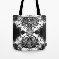 Black Gatria- Abstract Costellation Painting. Tote Bag