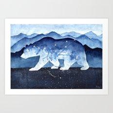 Great Bear Art Print