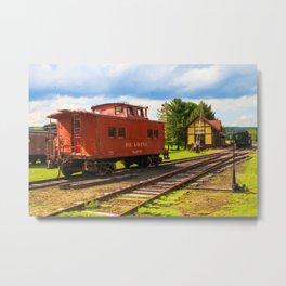 Kempton Railroad Metal Print