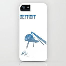 Cities Of America: Detroit iPhone Case