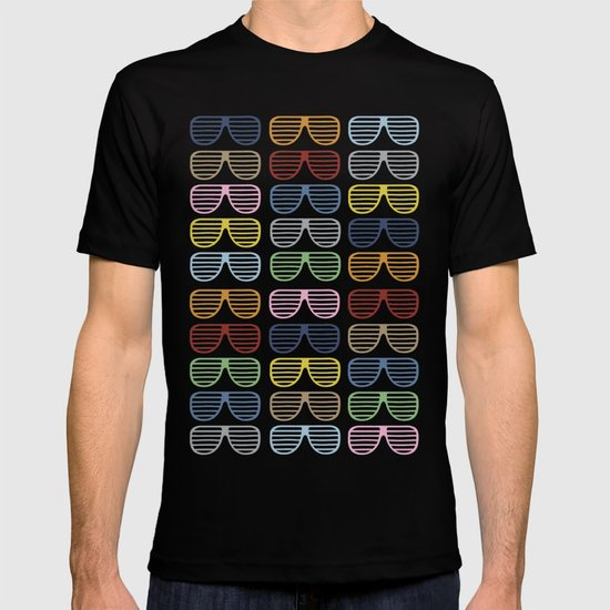 Rainbow Shutter Shades T-shirt