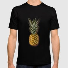 Pineapple MEDIUM Black Mens Fitted Tee