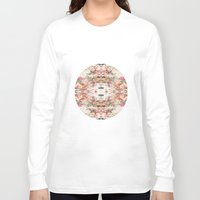 minerals Long Sleeve T-shirts featuring Mystic Minerals 3 by Caroline Sansone