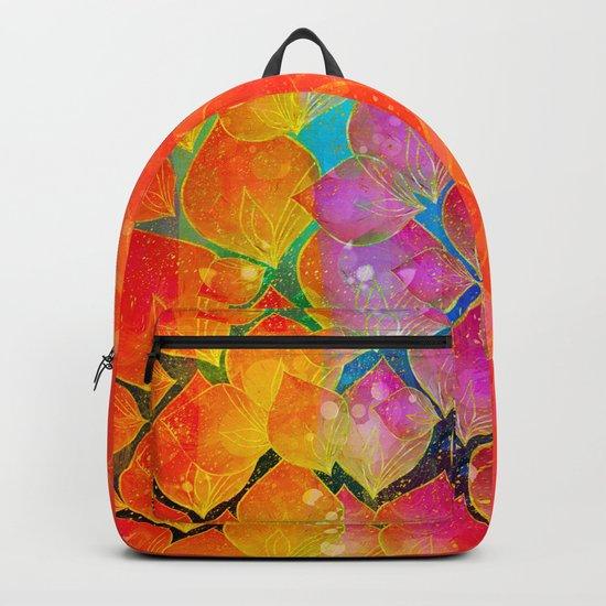 Colorful foliage Backpack