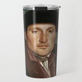 Vintage Tudor portrait Hans Holbain Travel Mug
