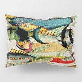 Fantastic Fish Tank Pillow Sham