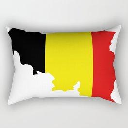 belgium map Rectangular Pillow