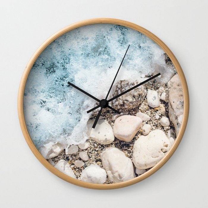 Wave On Wall Clock
