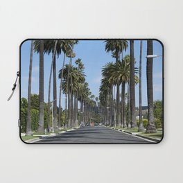 Tall California Palm Trees Photograph Laptop Sleeve