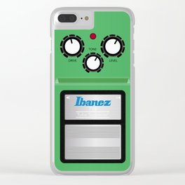 Tube screamer Clear iPhone Case