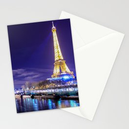 Paris Nights Stationery Cards