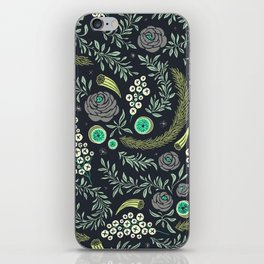 Winter's Eve Floral iPhone Skin