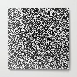 Static Metal Print