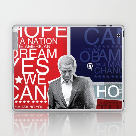 Barack Obama Laptop & iPad Skin