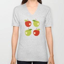 Bitten apples Unisex V-Neck