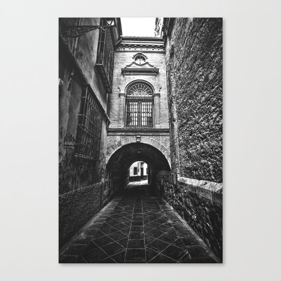 In the neighborhood Canvas Print