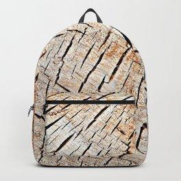 Cracks in wood, textures 59 Backpack