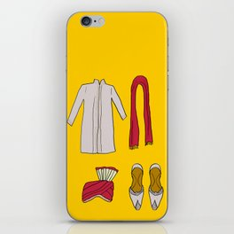 His indian outfit iPhone Skin