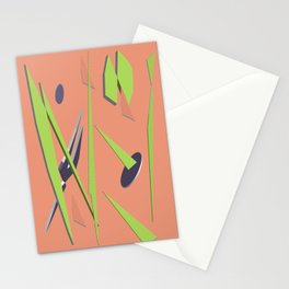 80s Shapes, Colors and Space Stationery Cards