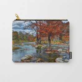 Guadalupe River Texas Carry-All Pouch