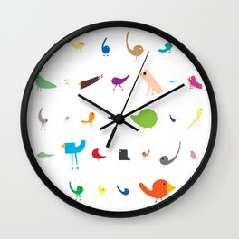 The Jolly Troop Wall Clock