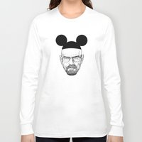 walter white Long Sleeve T-shirts featuring Walter White by Barbo's Art