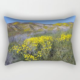Carrizo Plain National Monument California Rectangular Pillow