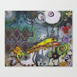 Cocoi Libre Canvas Print