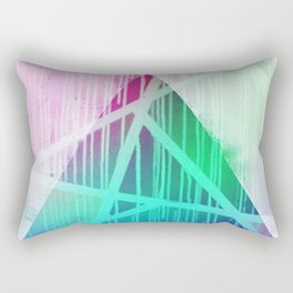 Prism Drip  Rectangular Pillow