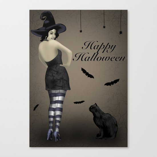 Sassy Witch Canvas Print