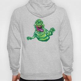 Ghostbusters Slimer Pixel Art Hoody