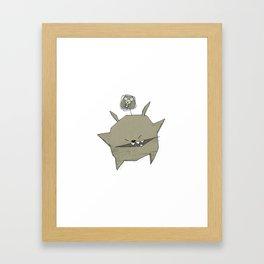 minima - rawr 04 Framed Art Print