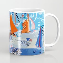 Regatta by Raoul Dufy Coffee Mug
