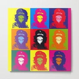 Chimp Guevara 9 Times T-shirt Canvas Print Metal Print