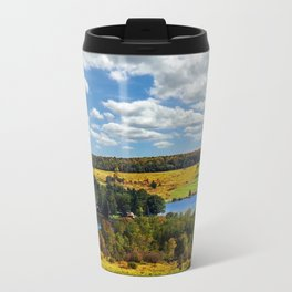 Country Landscape Travel Mug