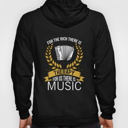 Air Accordion Rich Therapy Accordion Player Music Hoody