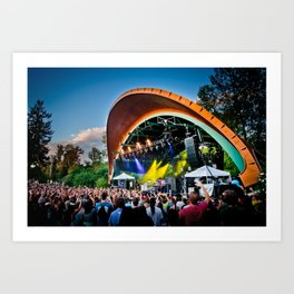 Sublime with Rome Live at Cuthbert Amphitheater Concert Poster Art Print