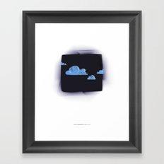 clouds... Framed Art Print