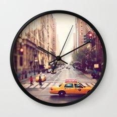 NYC Taxi Wall Clock