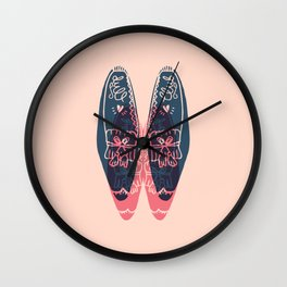 moccasin Wall Clock