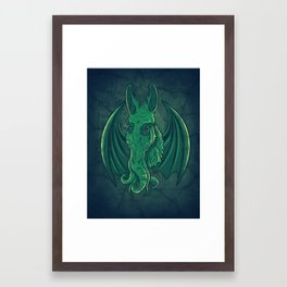 Mulethulhu Framed Art Print