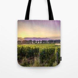 grapevine field Tote Bag