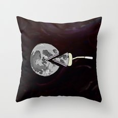 moon pie Throw Pillow