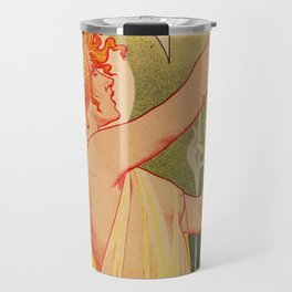 Classic French art nouveau Absinthe Robette Travel Mug
