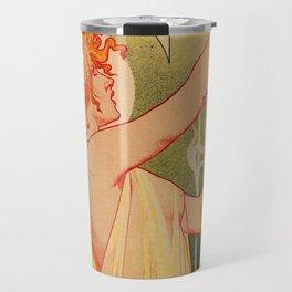 Classic French art nouveau Absinthe Robette Travel Mug