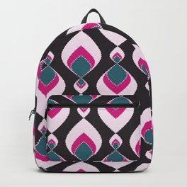 Multi-colored pattern . Backpack