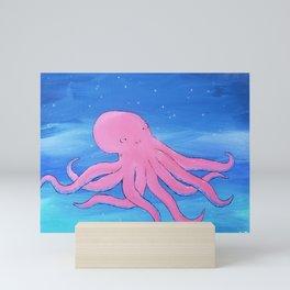 Crawling Octopus  Mini Art Print