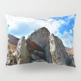 Mountain Landscape Panorama Pillow Sham