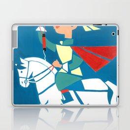 Nadam horse race Laptop & iPad Skin