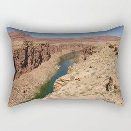 Colorado_River - Marble_Canyon, AZ Rectangular Pillow